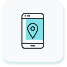 real time gps tracking icon