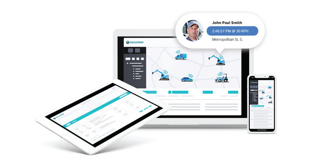 Cellutrak's GPS tracking solution is available on many devices